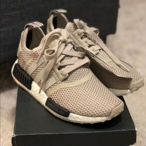 6501daff8 Women s Adidas Nmd R1 Tan on Poshmark